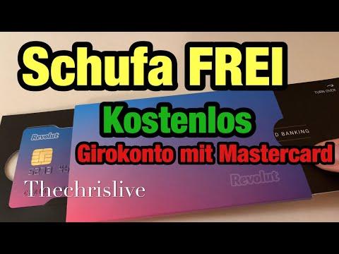 Revolut Kostenlose SchufaFreie MasterCard zum Girokonto eingetroffen