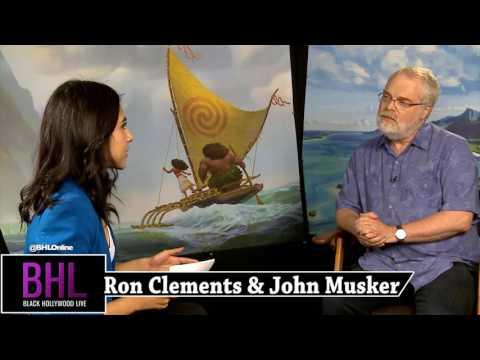 Disney's 'Moana' Interview w/ Director's Ron Clements & John Musker