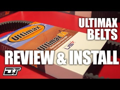 Ultimax Belts Overview And Install