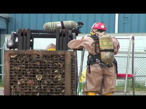 Fishing vessel hauls up mustard gas