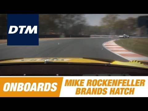Onboard Mike Rockenfeller Audi RS 5 DTM - DTM Race Brands Hatch