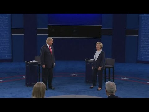 Clinton and Trump take audience questions in second presidential debate