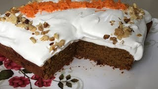 Whole Wheat Carrot Cake In Tamil | கேரட் கேக்