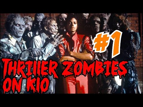 THRILLER ZOMBIES on KLO!▐ CoD World at War Custom Zombies Map/Mod