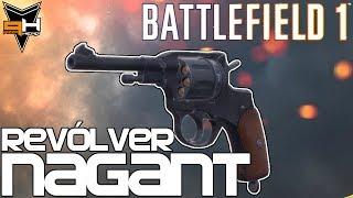Revólver Nagant Cómo desbloquear y Reseña Battlefield 1 Guía de Armas ( PizzaHead )