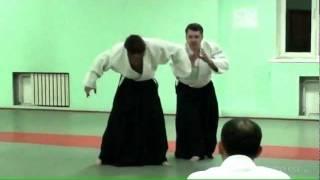 Айкидо, тренировка в Алматы Корнев В.А