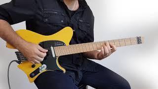 The new .strandberg* Sälen headless guitar - clean sounds