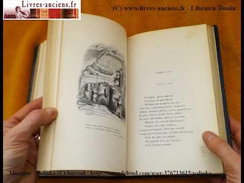 Livre Ancien Fables De Florian Illustrations Grandville