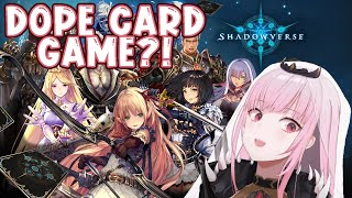 【SHADOWVERSE】Reaper's First Card Game!? I Am In. #hololiveEnglish #holoMyth