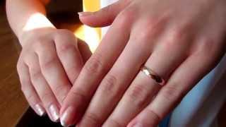 видео Обручальные кольца бесконечность