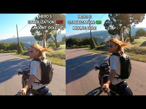 GoPro Hero6 Stabilization Comparison (with Hero5) GoPro Tip #594