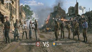 Battlefield 1 Incursions Gameplay on Amiens