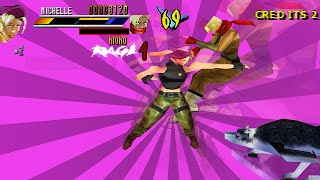Gekido: Urban Fighters - PSX Game Sample 60FPS