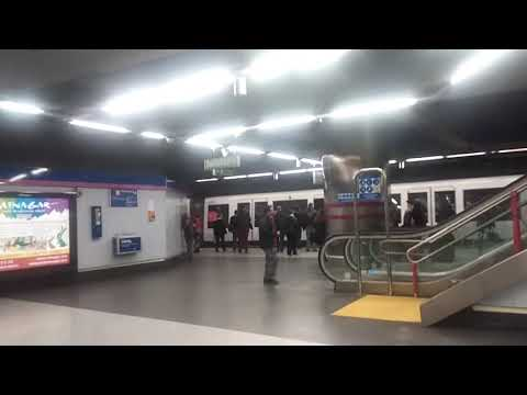 Metro de Madrid 8000 Por Colombia