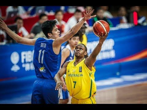 Philippines Vs. Australia FULL HIGHLIGHTS | FIBA Asia U16 04.04.18