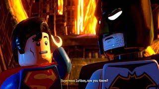 LEGO DC Supervillains - All Endings + Secret Ending (Hero and Villain Ending)