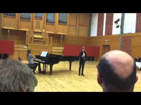 Berkó Domi - XIII Országos zeneiskolai klarinétverseny I forduló