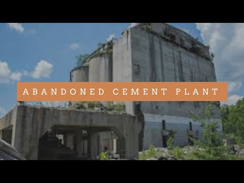 ABANDONED CEMENT PLANT - PEOPLE SHOOT STUFF HERE