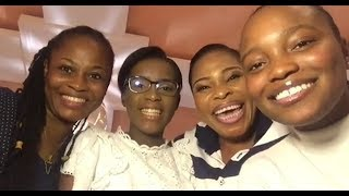 At last Meet Tope Alabi daughters as they sing together to celebrate international women day