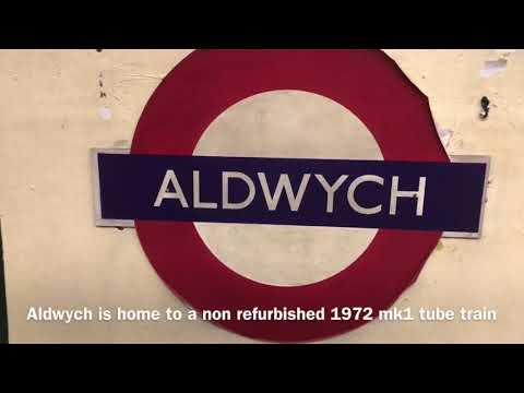 Aldwych station tour - Hidden london disused station