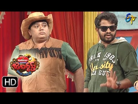 Hyper Aadi, Raijing Raju Performance | Jabardasth | 30th November 2017 | ETV  Telugu