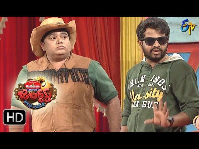 Hyper Aadi, Raijing Raju Performance | Jabardasth | 30th November 2017 | ETV  Telugu