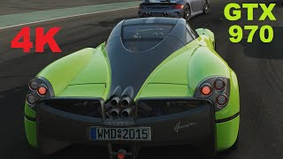 PROJECT CARS DSR 4K