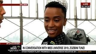 EXCLUSIVE | In conversation with Miss Universe Zozibini Tunzi