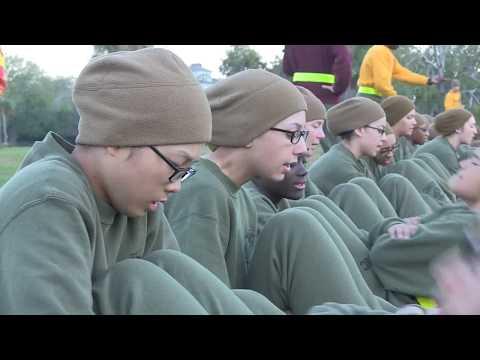 PFT Marine Recruits Oscar and Fox Company  Parris Island