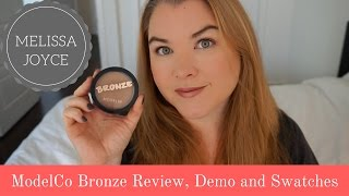 ModelCo Cosmetics Shimmer Bronzer Review