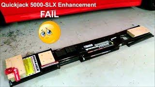 Quickjack Usage Enhancement Failure