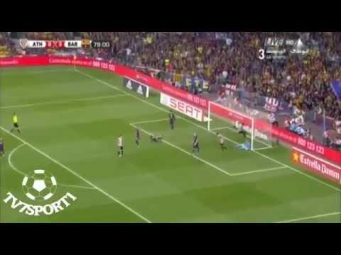 All Goals of F.C Barcelona Vs Athletic Bilbao 3-1 [30/5/2015] Copa del Rey final