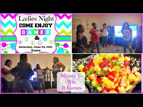 Ladies Night: Games, Movies, and Karaoke