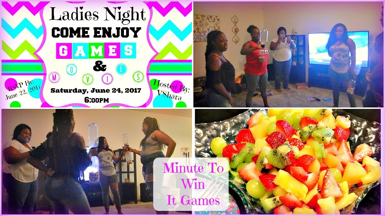 Games for a ladies night out