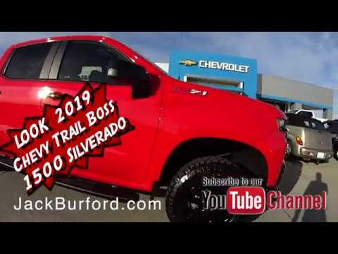 Sneak Peek! A 2019 CHEVROLET SILVERADO 1500 Crew Cab Short Box 4-Wheel Drive LT Trail Boss