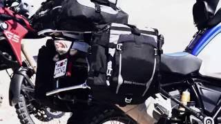 New BMW Atacama off-road luggage for GS motorcycles.