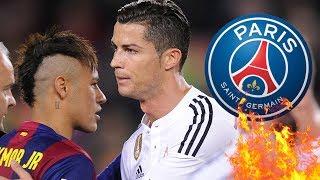 Überredet Ronaldo Neymar zu Juve zu kommen ?!