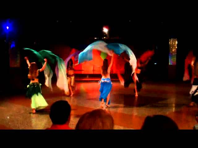 Dança do Ventre - Prof Arieli Maragel- Véu Leque TRAVEL_VIDEO
