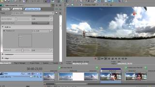 Spice Up Your Sony Vegas Pro Transitions with BCC Lens Flare