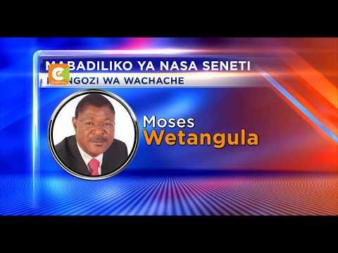 Maseneta wa NASA kukutana kumchagua mrithi wa Wetangula