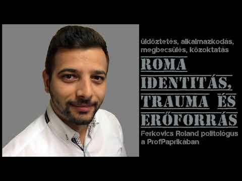 Roma identitás, trauma és erőforrás. Ferkovics Roland a Professzor Paprikában.