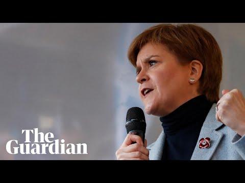 'Stop running scared,' Nicola Sturgeon tells Johnson and Corbyn