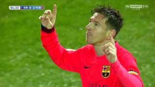 Lionel Messi vs Eibar (Away) 14-15 HD 720p (14/03/2015) - English Commentary