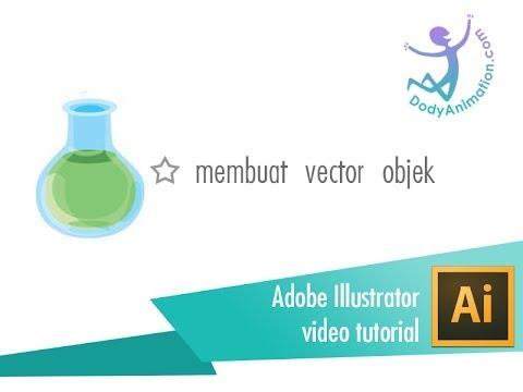 tutorial membuat vector dengan adobe illustrator - YouTube