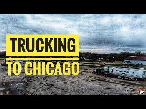 My Trucking Life | TRUCKING TO CHICAGO | #1845