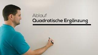Quadratische Ergänzung, Hilfe in Mathe online, einfach erklärt | Mathe by Daniel Jung