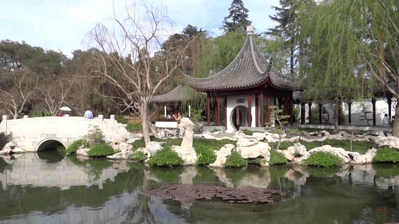 San Marino, California   Huntington Botanical Gardens Chinese Garden HD  (2014)