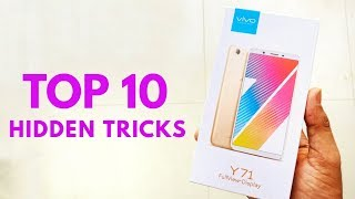 Vivo Y71 Top 10 Hidden Features | Trick & Tips Hindi