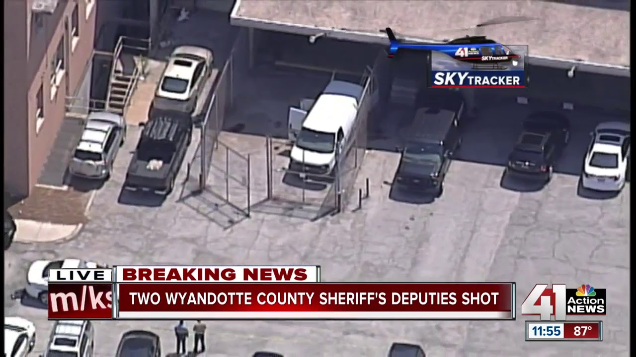 2 Wyandotte County sheriff's deputies shot, conditions unknown
