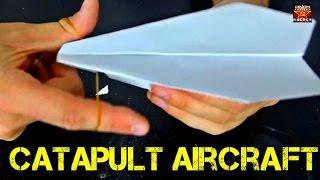Catapult Paper Airplane